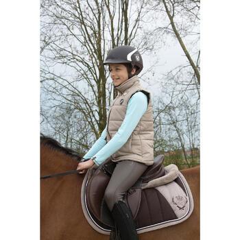 Pantalon chaud imperméable équitation enfant KIPWARM - 1049157