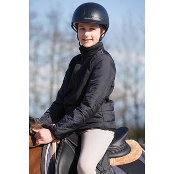Veste équitation enfant Safy noir - 1049160