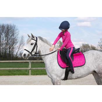 Filet + rênes équitation cheval et poney SCHOOLING cuir noir - 1049163