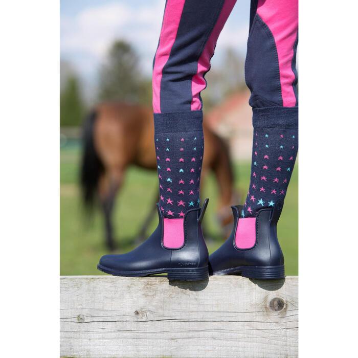 Boots équitation enfant SCHOOLING 300 - 1049171