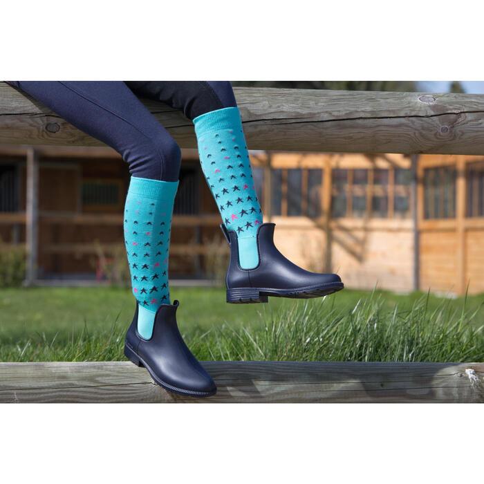 Boots équitation enfant SCHOOLING 300 - 1049172