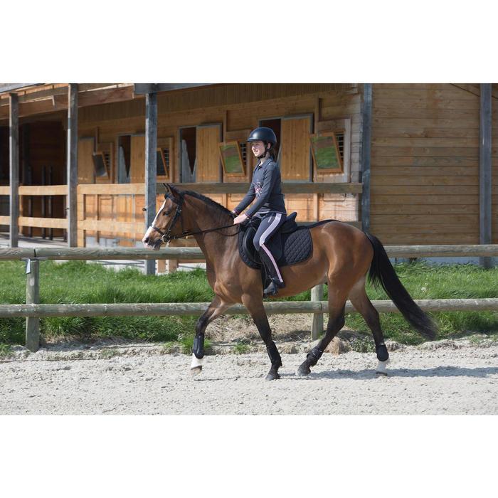 Boots équitation enfant et adulte SCHOOLING 100 noir - 1049177