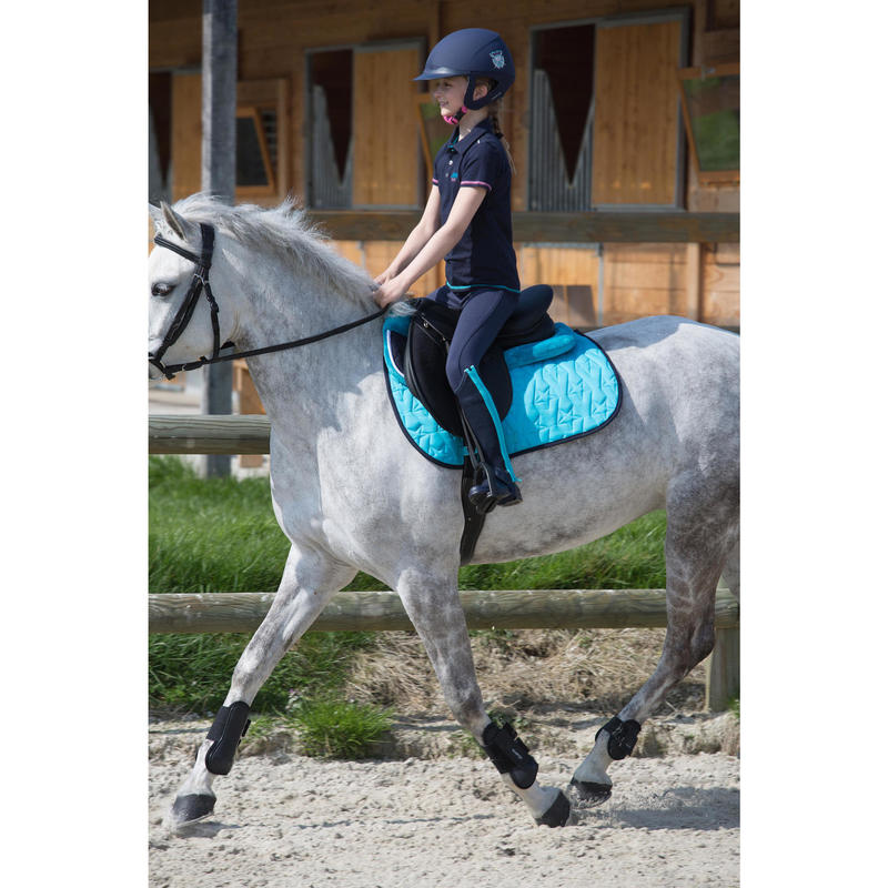 buy online discount sale new high quality - Riding Tendon Boots For Horse Or Pony Twin-Pack - Black