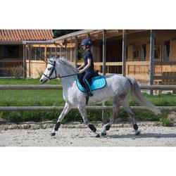 2 guêtres ouvertes équitation poney et cheval RIDING noir