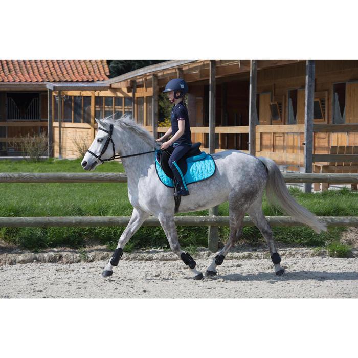 Streichkappen Riding Pony/Pferd 2er-Set schwarz