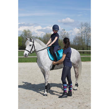 Amortisseur de dos mousse équitation cheval et poney LENA POLAIRE - 1049186