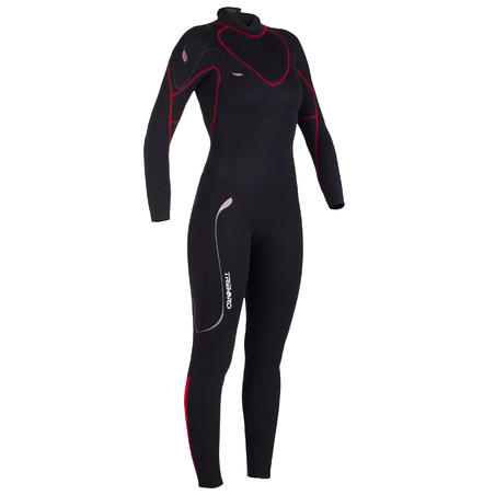 DG500 women's dinghy/catamaran full wetsuit 3 mm neoprene