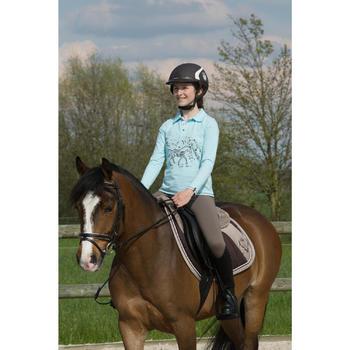 Casque équitation SAFETY JUMP marron