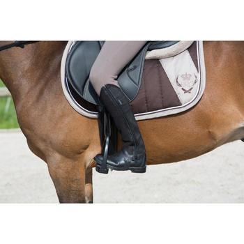 Botines equitación adulto HOLSTEIN negro