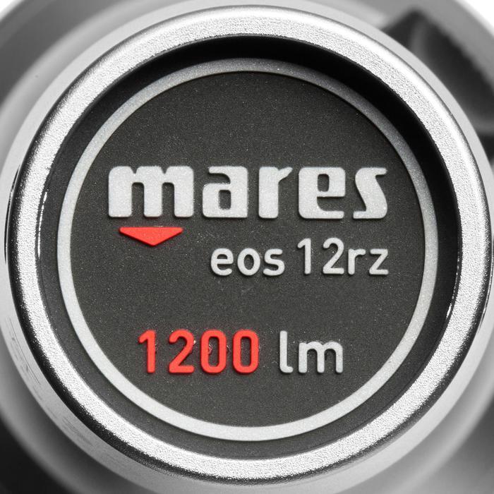 Duiklamp EOS 12RZ 1200 lumen waterdicht tot 100 m - 1049390