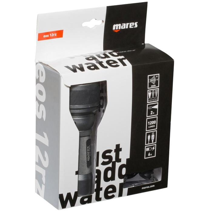 Duiklamp EOS 12RZ 1200 lumen waterdicht tot 100 m - 1049394