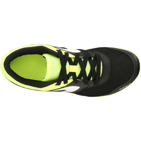 CHILDREN'S ATHLETICS SPIKED SHOES MULTI-PURPOSE BLACK YELLOW