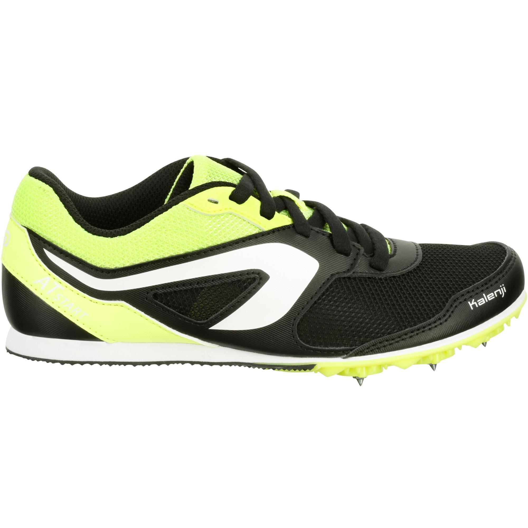 sur des coups de pieds de beau look achats D'athletisme Noire Chaussure Enfant Kalenji Polyvalente A ...