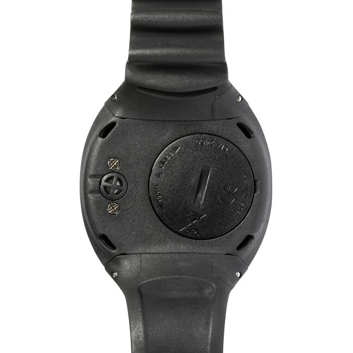 Ordinateur de plongée sous-marine Puck Pro gris (bracelet noir, cerclage gris)