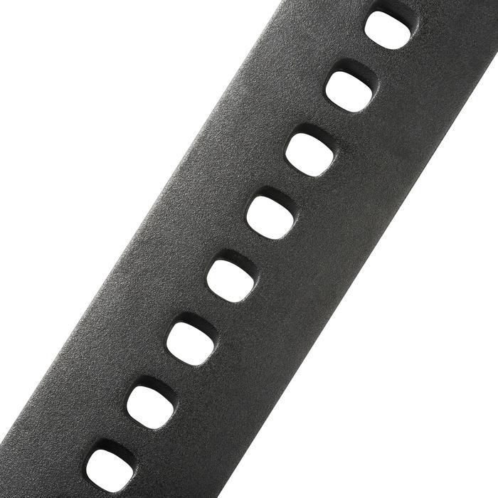 Duikcomputer Puck Pro grijs (zwart polsbandje, grijze rand)
