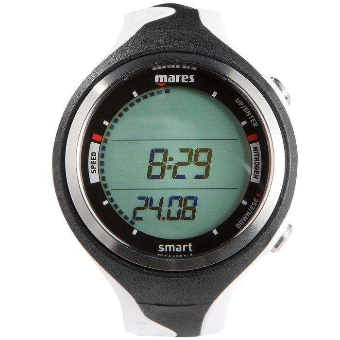 Montre ordinateur de plongée bouteille Smart noir/blanc - 1050168