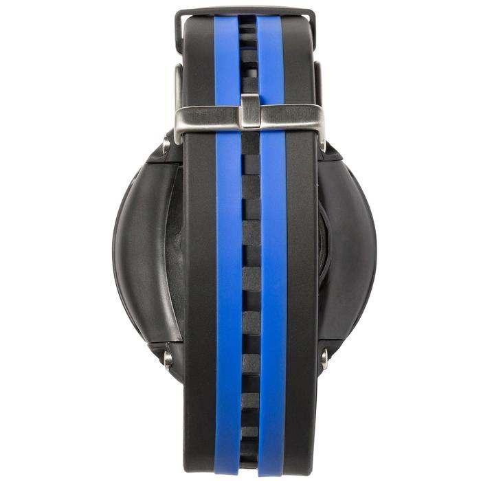 Montre ordinateur de plongée bouteille Leonardo noir/bleu