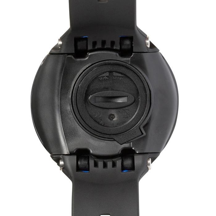 Montre ordinateur de plongée bouteille Leonardo noir/bleu - 1050181