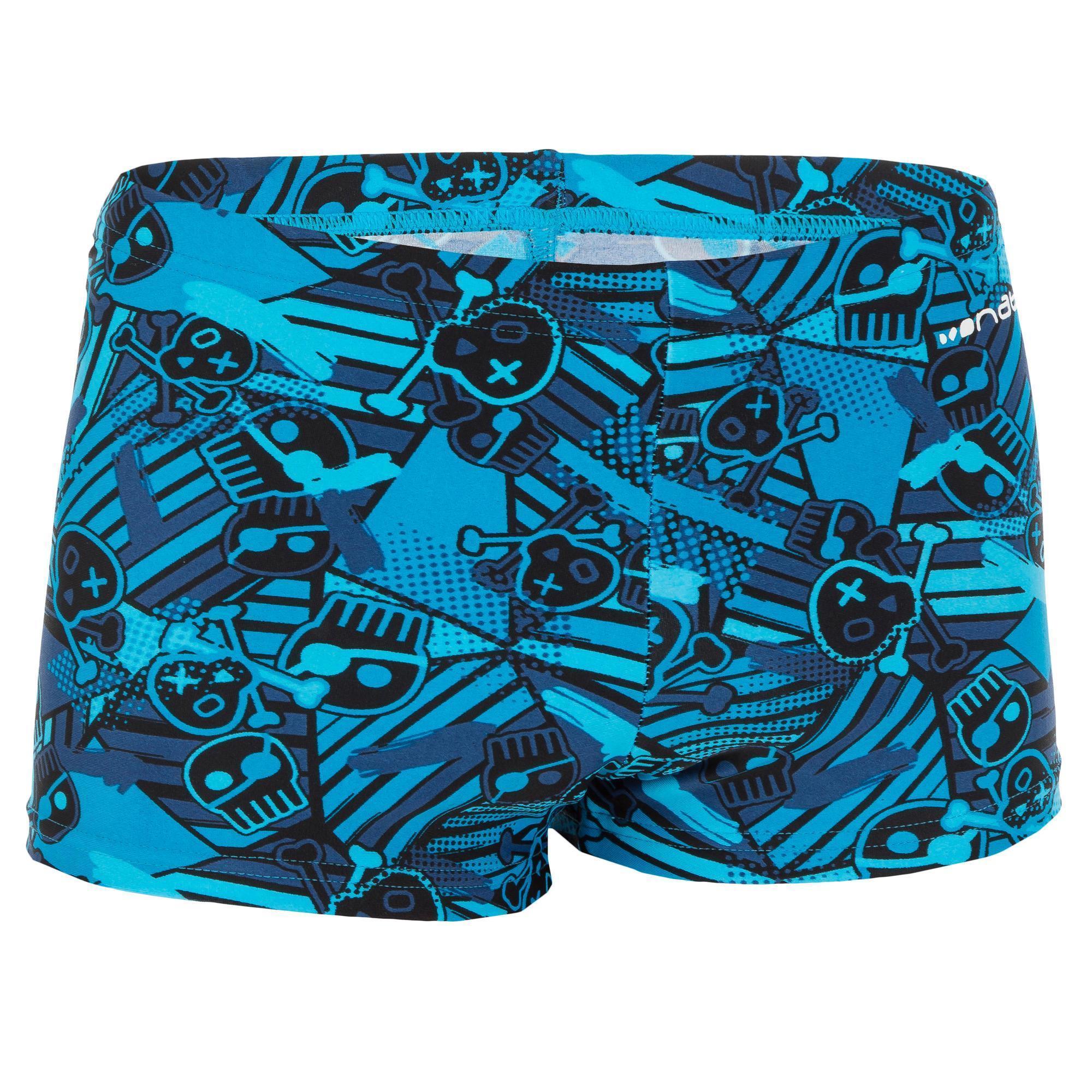 maillot de bain garcon boxer b active all jol bleu nabaiji. Black Bedroom Furniture Sets. Home Design Ideas