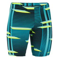 900 FIRST BOYS' JAMMER SWIMSUIT - ALL LINI GREEN