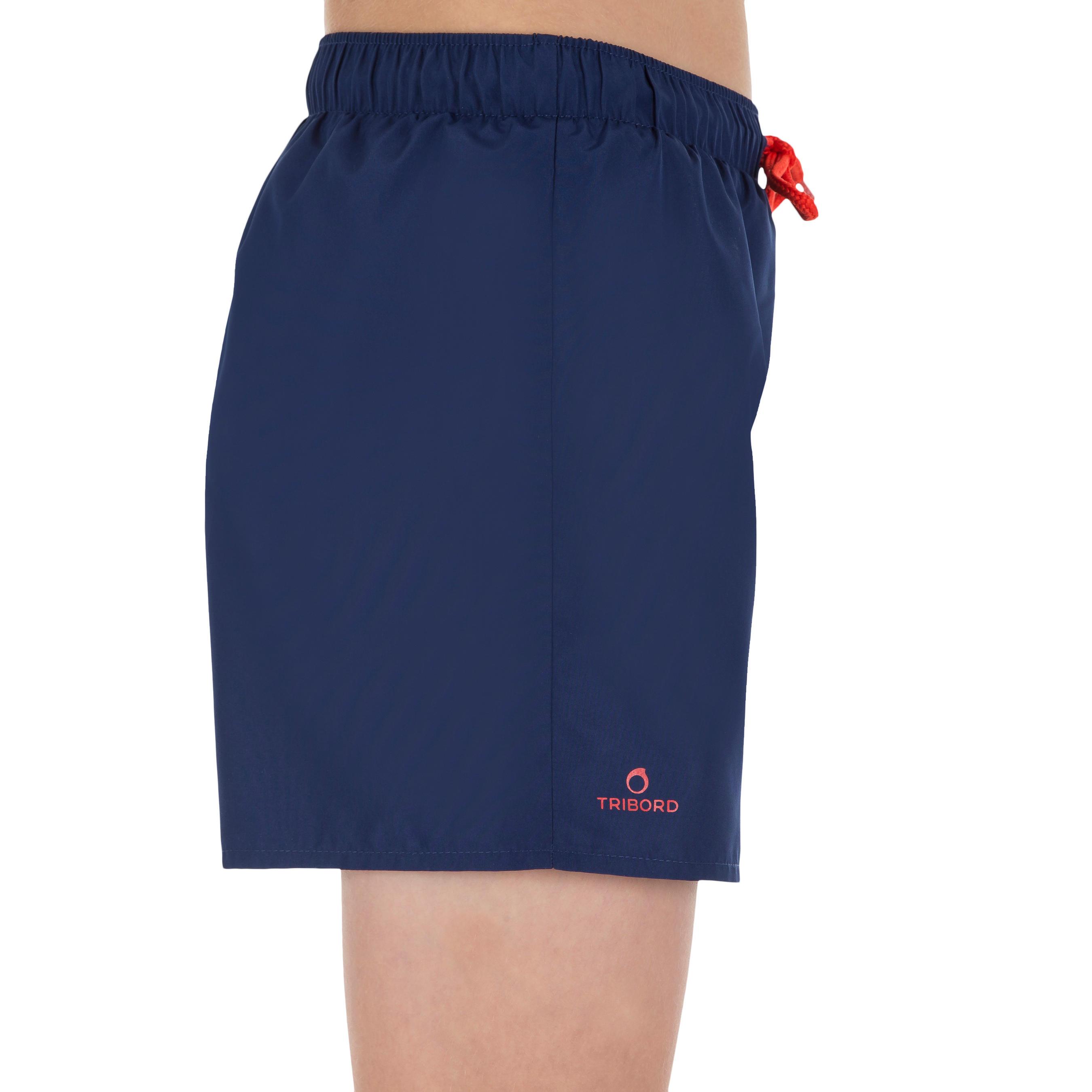Hendaia Boys' Short Boardshorts - Prems Dark Blue