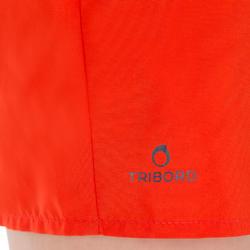 Bermuda tipo boardshort niños Hendaia Prems Rojo