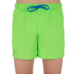 Hendaia Boys' Short Boardshorts - Prems Jasmine Green