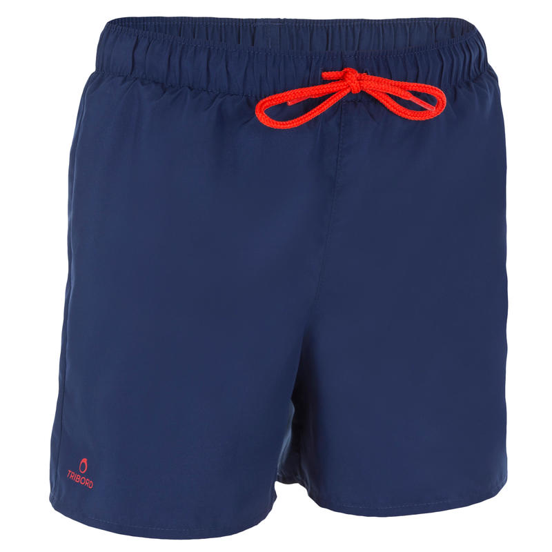 Hendaia Boys' Short Boardshorts - Prems Dark Blue