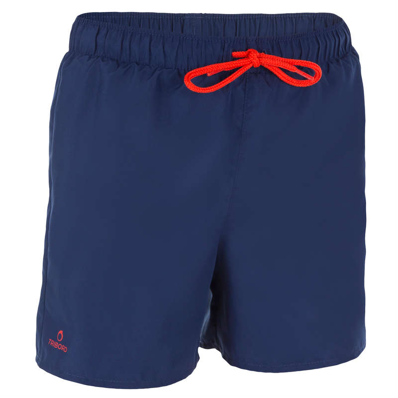BOY'S BOARDSHORTS Swimwear and Beachwear - Hendaia Tween - Dark Blue OLAIAN - Swimwear and Beachwear