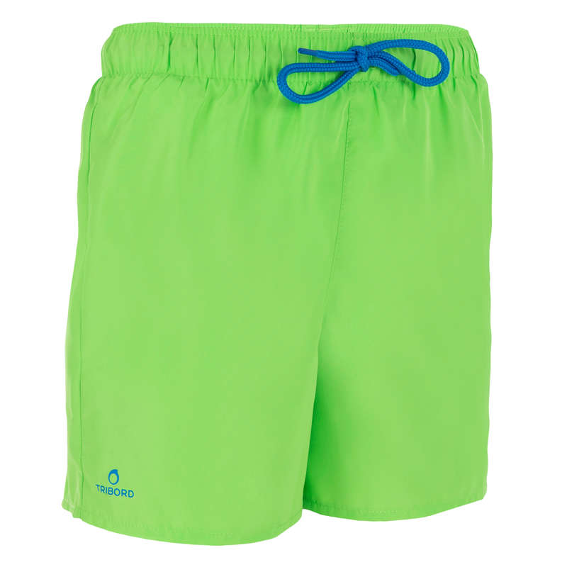 BOY'S BOARDSHORTS Clothing - Hendaia Kids' - Green OLAIAN - Swimwear and Beachwear
