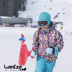 Luge enfant pelle à neige