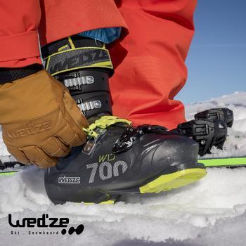 Skischoenen Wid 700 voor heren geel