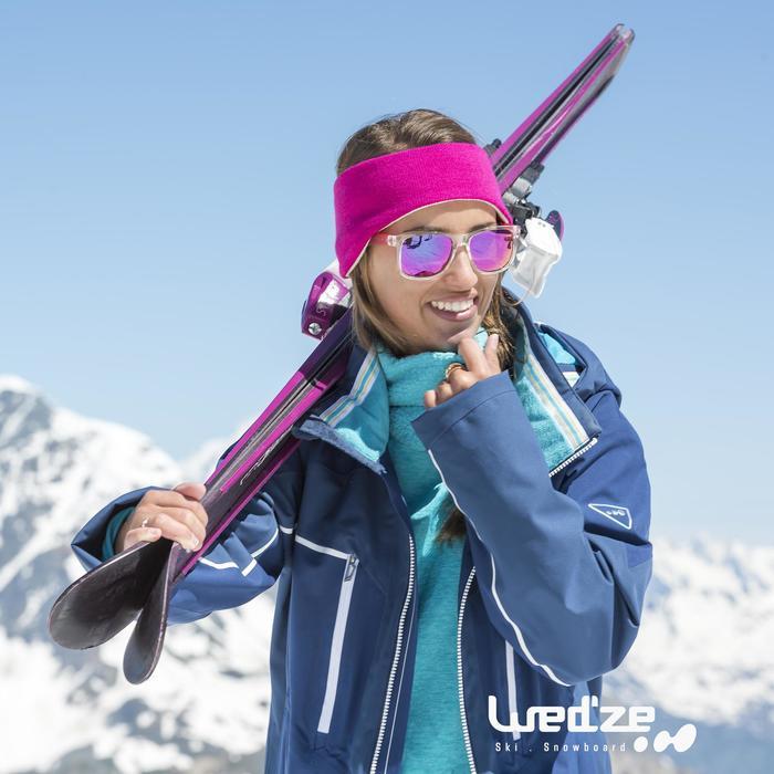 Skiunterwäsche Funktionsshirt 2Warm Top Damen grau