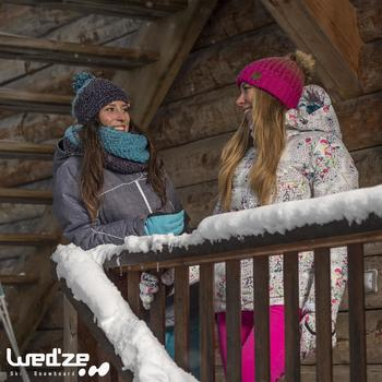 Veste ski femme Slide 500 WARM noire - 1050590