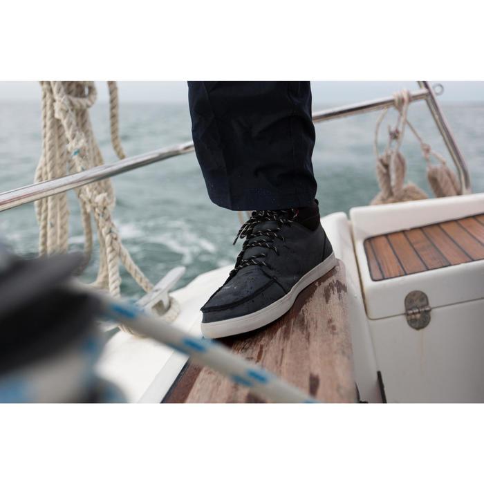 Chaussures bateau cuir homme KOSTALDE RAIN Bleu