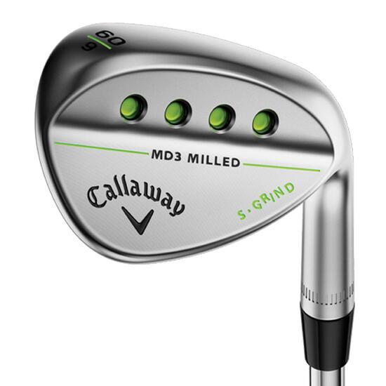 Golf wedge voor heren, rechtshandig, Mack Daddy 3 forged - 1050709