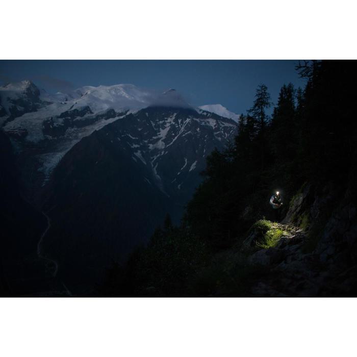 Hoofdlamp voor trail OnNight 710 zwart/oranje 300 lumen