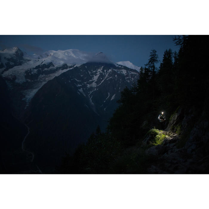 Trail Running 300 Lumens Head Torch Onnight 710 - black and orange