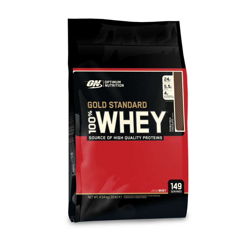 PROTEINE ȘI SUPLIMENTE ALIMENTARE Fitness Cardio, Bodybuilding, Crosstraining, Pilates - Whey Gold Standard 100% 4.5kg OPTIMUM NUTRITION - Proteine si suplimente alimentare