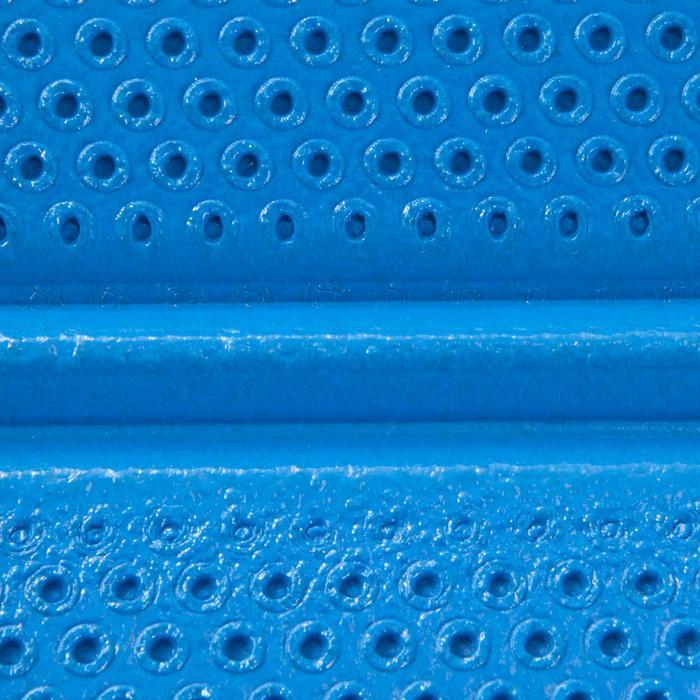 Gymnastikmatte 500 abriebfest faltbar Pilates Toning Größe M 8mm blau