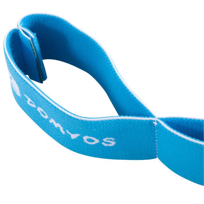 Cinta Banda Elástica Gimnasia Pilates Domyos Medium Azul