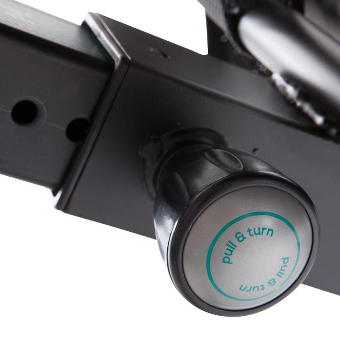 Hometrainer zithouding E SEAT, compatibel met de app Domyos EConnected*