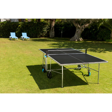 table de ping pong ft 750 ope outdoor housse offerte artengo. Black Bedroom Furniture Sets. Home Design Ideas