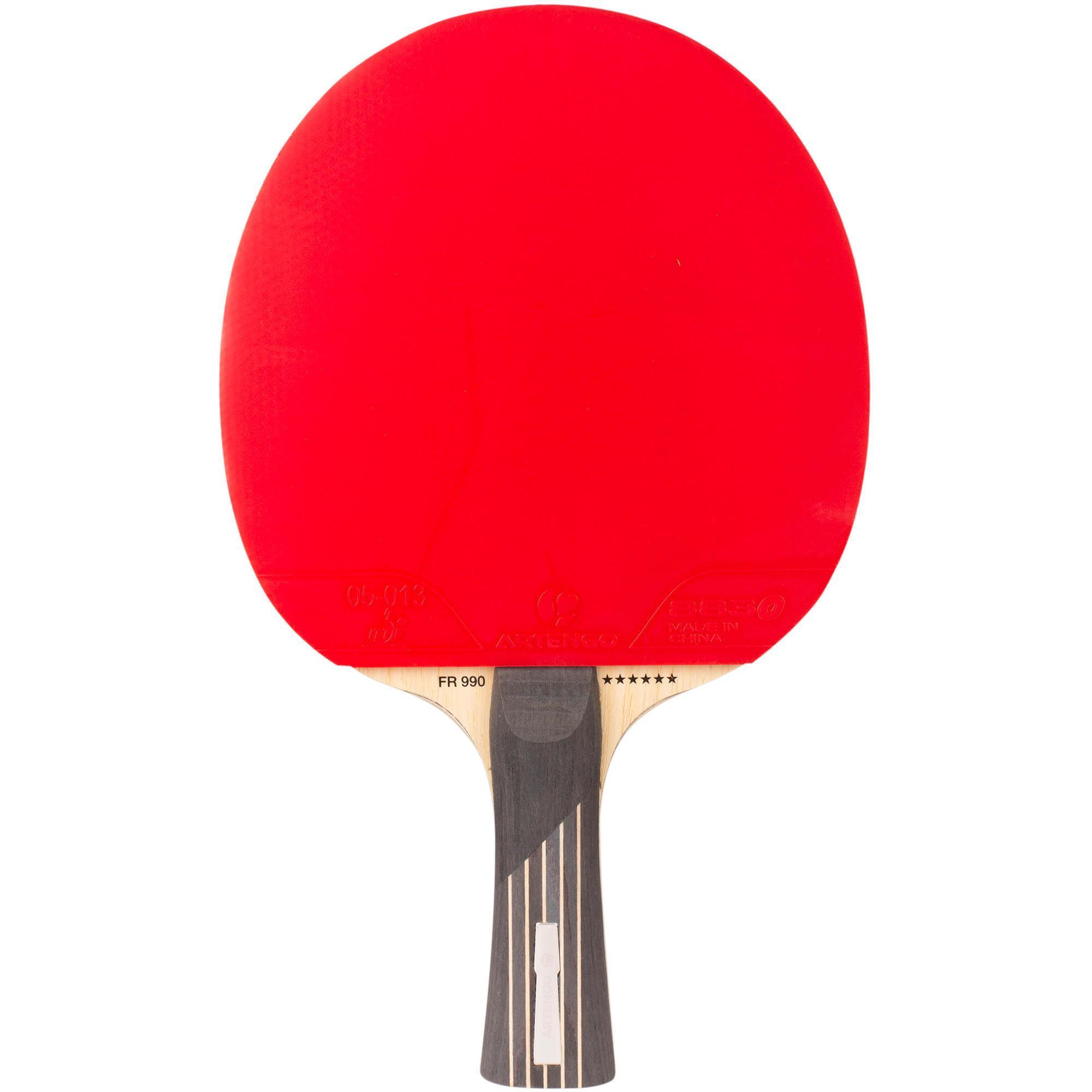 Fr990 6 table tennis bat artengo for Table 4 en 1 intersport