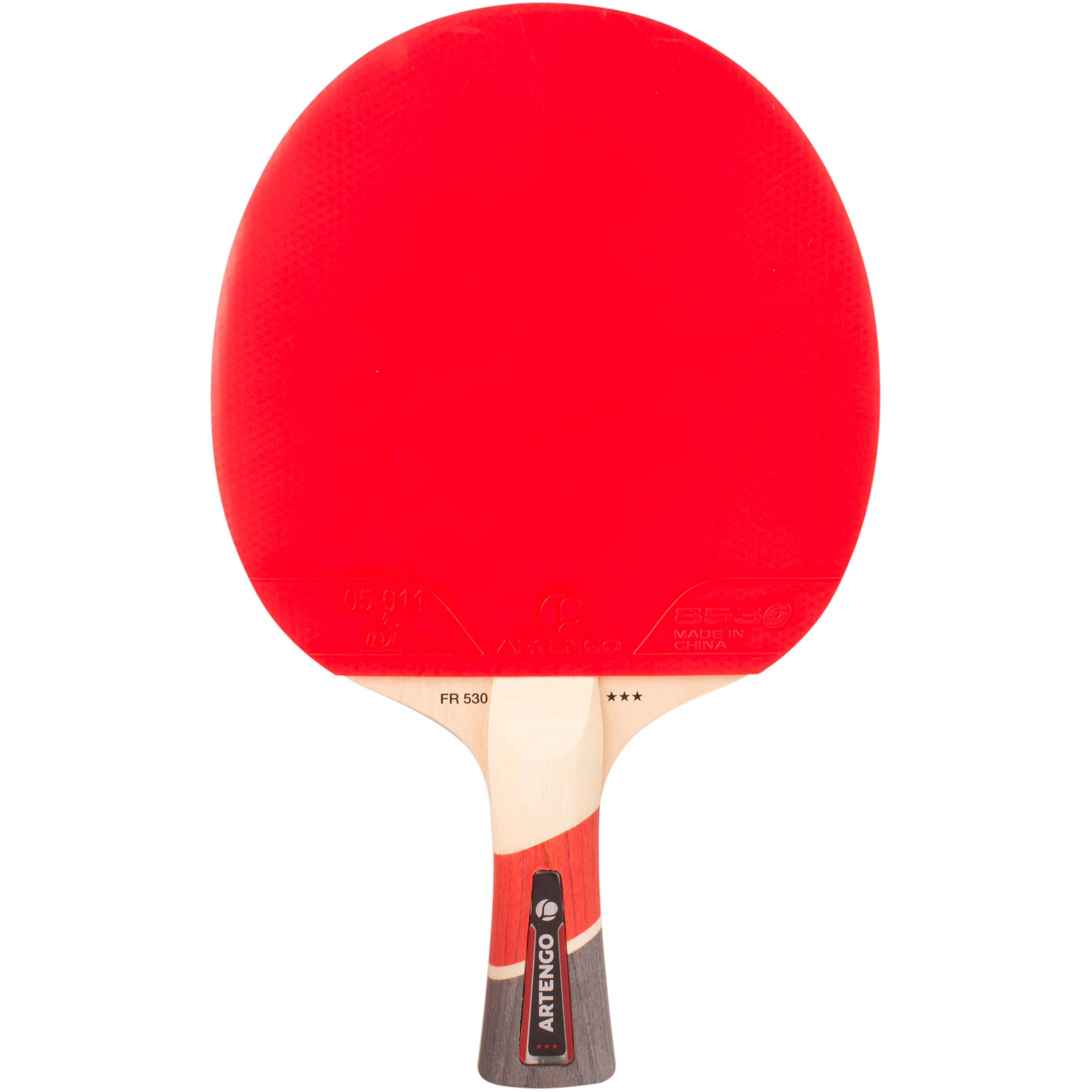 Set of 2 FR 530 Table Tennis Paddles and 3 FB 830+ Balls