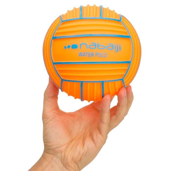 Petit ballon piscine adhérent orange