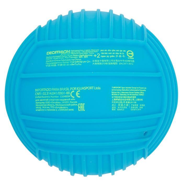 Petit ballon piscine adhérent uni bleu - 1052466