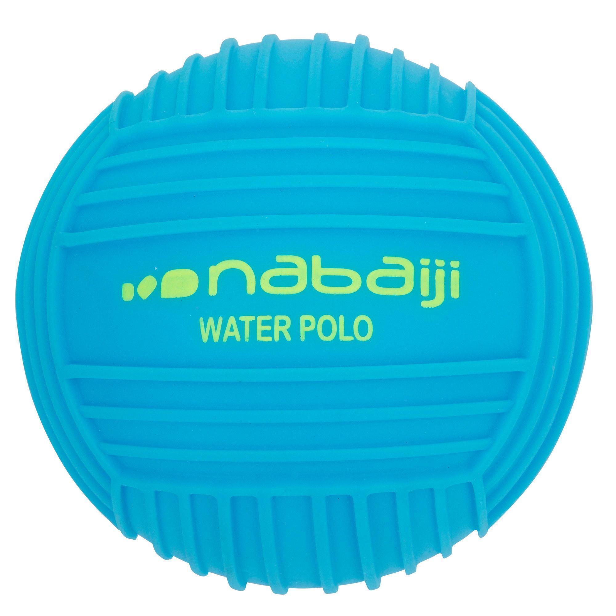 Small Grip Pool Ball Plain Blue Nabaiji