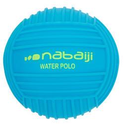 Kleine bal met grip voor het zwembad, effen blauw