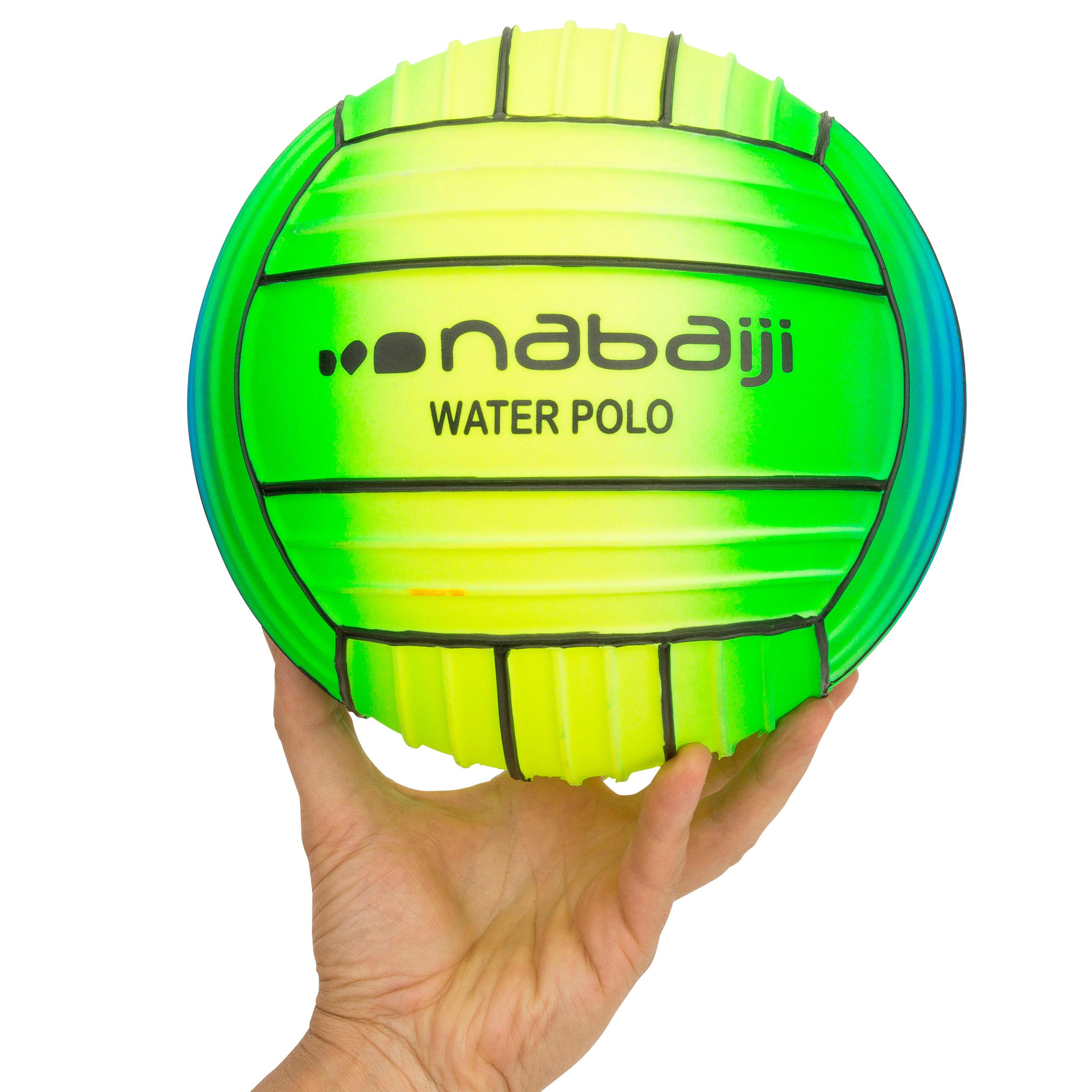 Large Grip Pool Ball - Rainbow Green
